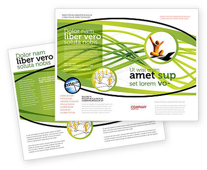 Green Fibers Brochure Template