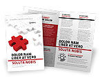 Consulting: Fitting In Brochure Template #05554