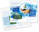 Nature & Environment: Save Wereld Brochure Template #05558