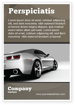 Cars/Transportation: Car Ad Template #05566