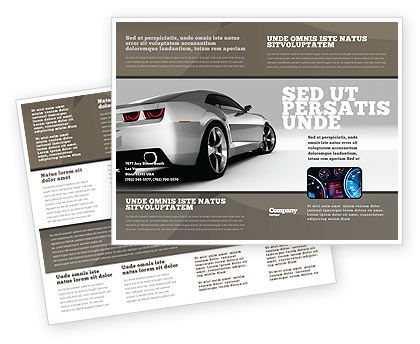 car brochure template car brochure template design and layout download now