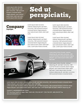 car flyer template background in microsoft word publisher and