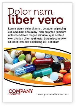 Medical: Arzneimittelbehandlung Anzeigenvorlage #05572