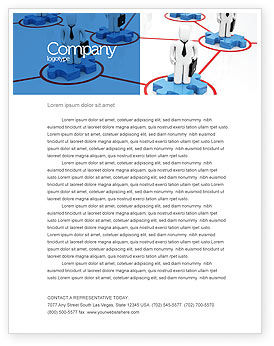 Business Concepts: Entrepreneurs Letterhead Template #05575