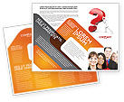Consulting: Question Brochure Template #05578