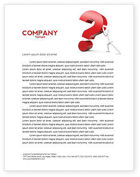 Question Letterhead Template