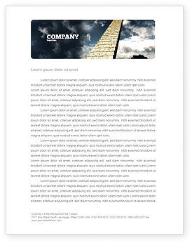 Business Concepts: Stairway To Heaven Letterhead Template #05581