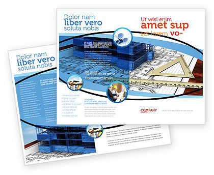 Office Building Planning Brochure Template