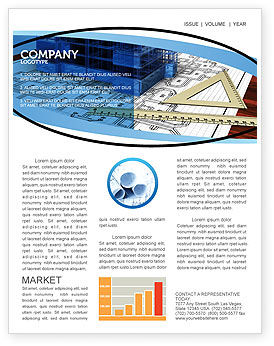 Office Building Planning Newsletter Template