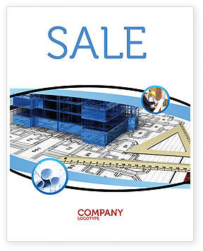 Office Building Planning Sale Poster Template