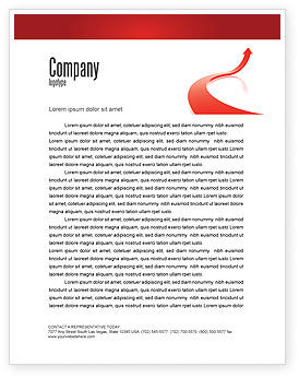 Business Concepts: Growing Up Letterhead Template #05607