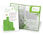 Holiday/Special Occasion: Engagement Brochure Template #05619
