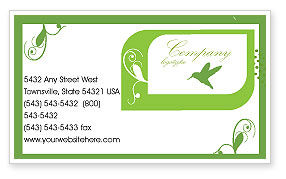 Engagement Business Card Template