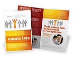 Careers/Industry: Orange Winner Brochure Template #05622