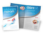 Medical: Toothpaste Brochure Template #05623