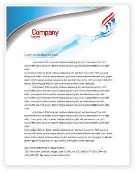 Toothpaste letterhead template layout for microsoft word adobe toothpaste letterhead template spiritdancerdesigns Gallery