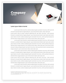 Careers/Industry: Email Shipping Letterhead Template #05624