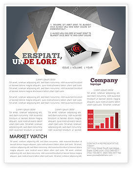 Email Shipping Newsletter Template