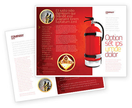 Fire Extinguisher Brochure Template
