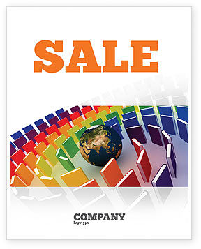 Education & Training: Book Publishing Sale Poster Template #05647