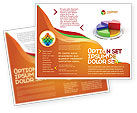 Consulting: 3D Pie Diagram Brochure Template #05649