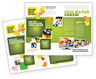 Education & Training: Kids Computer Brochure Template #05659