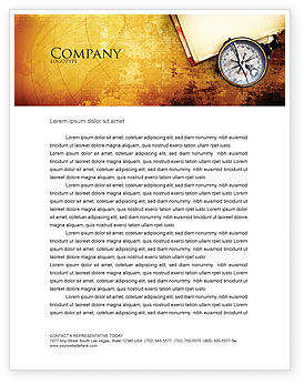 Education & Training: Sea Map Letterhead Template #05660