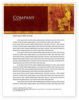 Computer Era Letterhead Template, 05666, Education & Training — PoweredTemplate.com