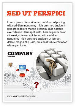 Business Concepts: Escape From Reality Ad Template #05668