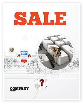Escape From Reality Sale Poster Template, 05668, Business Concepts — PoweredTemplate.com