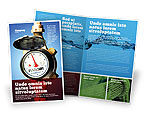 Utilities/Industrial: Water Meter Brochure Template #05692