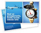 Utilities/Industrial: Water Meter Postcard Template #05692