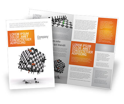 Game of Chess Brochure Template