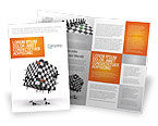 Business Concepts: Game of Chess Brochure Template #05694