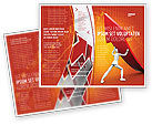 Financial/Accounting: Forcing Improving Growth Brochure Template #05700