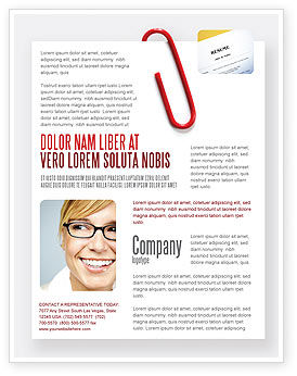 Business: Paperclip Flyer Template #05715