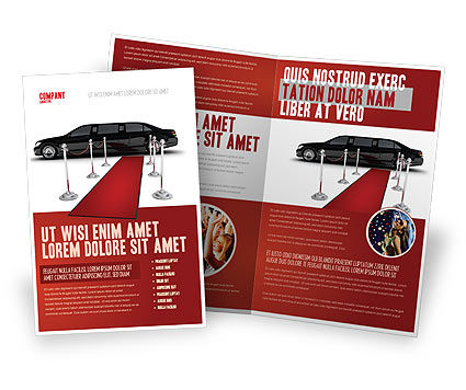 limousine brochure template design and layout download now 05720