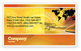 Cars/Transportation: Transworld Logistics Business Card Template #05722