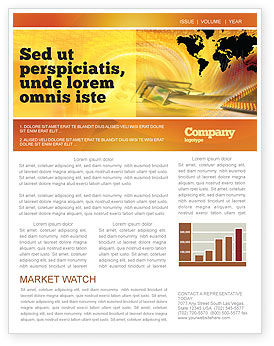 Transworld Logistics Newsletter Template, 05722, Cars/Transportation — PoweredTemplate.com