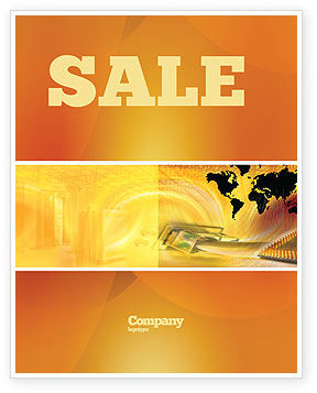 Cars/Transportation: Transworld Logistics Sale Poster Template #05722