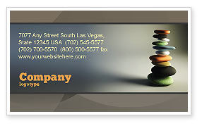 Business Concepts: Harmony Business Card Template #05723