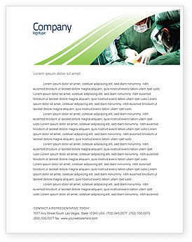 Medical: Anesthesia In Surgery Letterhead Template #05727