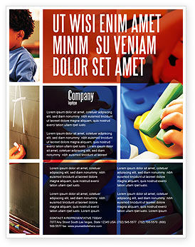 Education & Training: Primary School Flyer Template #05730