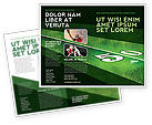 Sports: American Football Field Brochure Template #05744