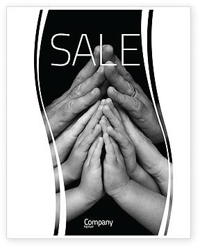 Family Harmony Sale Poster Template