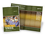 Medical: Medical Personnel In Hospital Brochure Template #05749