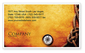 Marine Business Card Template, 05777, Business Concepts — PoweredTemplate.com