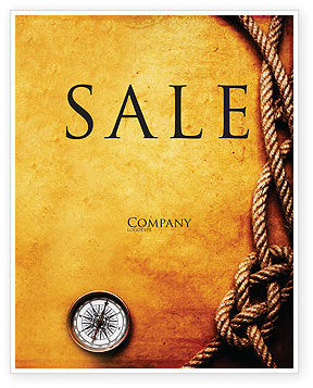 Business Concepts: Marine Sale Poster Template #05777