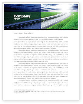 Construction: Dawn Highway Letterhead Template #05781