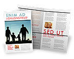 People: Family Wandeling Brochure Template #05802